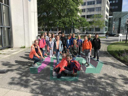 Beveiligd: Groep 6 naar Leeuwarden